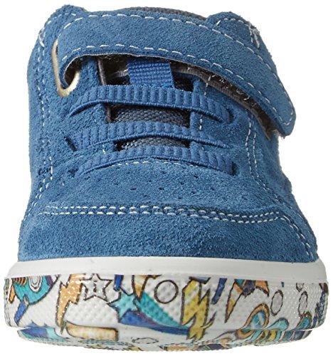 Ricosta - Flo, Pantofole Bambino Blau (Petrol/Multi)