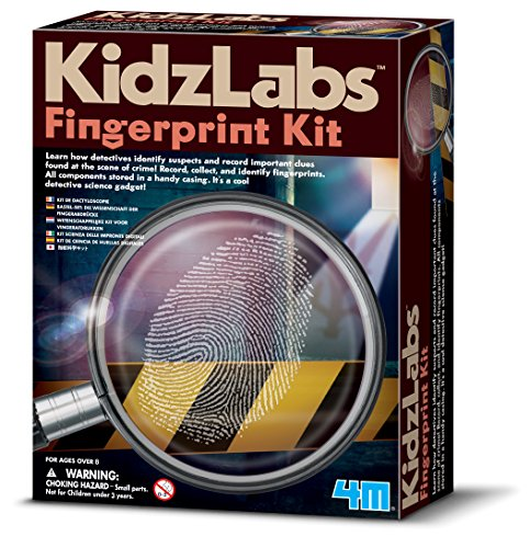 Great Gizmos Detektiv Science Fingerabdruck-Set
