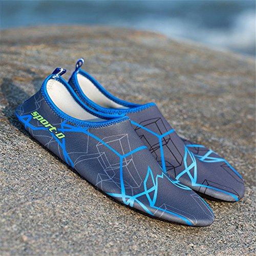 Juleya Uomo Donna Acqua Sport Pelle Scarpe Aqua Calzini Unisex di Nuoto, Corsa, Snorkeling, Surf, Esercizi di Yoga 2#
