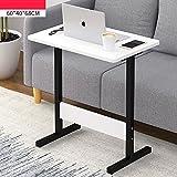 YNN Tragbare Nachttisch Laptop Schreibtisch Schlafzimmer Bett Schreibtisch Lift Tabelle Faul Tisch Frühstück Tabelle 60 * 40 * 68 cm (Farbe : B)