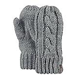 Barts KIDS Cable Mitts Handschuhe heather grey, Größe:Kinderhandschuhe Gr. 3