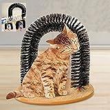 Coeus Arco gatto self-battipista setole gattino massaggiatore scratcher tappeto