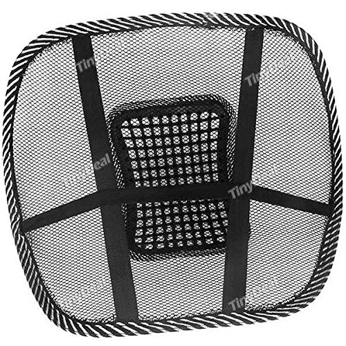 Tiny-Deal-Car-Seat-Chair-Massage-Back-Lumbar-Support-Mesh-Ventilate-Cushion-Pad-RTH-320544