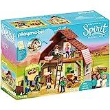 Playmobil - Grange avec Lucky, Apo et Abigaëlle - 70118