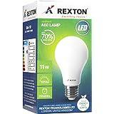 Rexton LED Bulb RA60-11 11 Watt, White, H28.2 x W34.1 x D40.6 cm