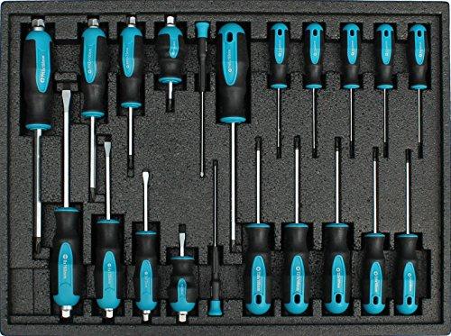 Kraftwelle Werkstattwagen Werkzeugwagen gefüllt mit Werkzeug - 7