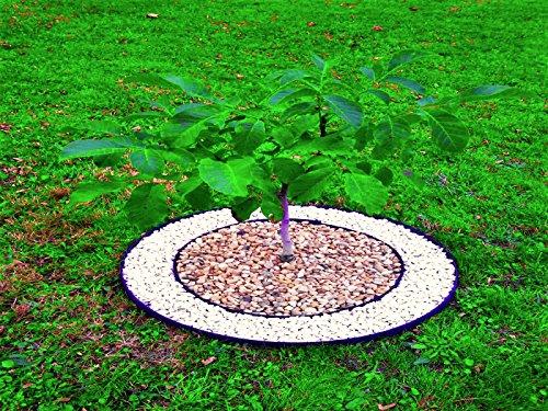 10 metri bordo flessibile in plastica per prato con 30 for Bordi per giardino