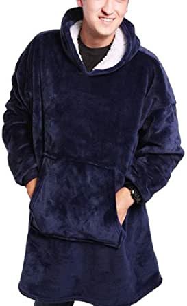 Wangy Hoodie Sweatshirt Blanket,Oversized Super Soft Warm Comfortable Giant Hoody Perfect for them cosy cold winter nights!