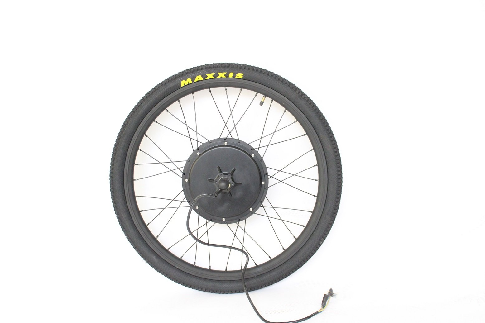 "61jA9vhYKsL - HalloMotor ebike 48V 1500W 28"" Rear Wheel Conversion Kits + 48V 14.5AH Panasonic Cell Tiger Shark Fr"