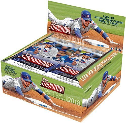 Topps 2018 Stadium Club Baseball Retail Display Box