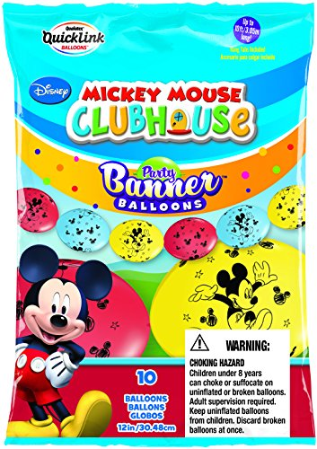 Qualatex 44561 Disney Mickey Mouse - Pancarta (látex, 30 cm)