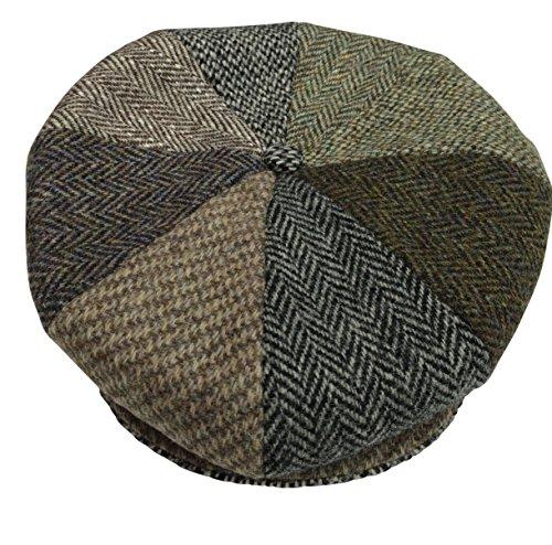 Harris Tweed Herren Schirmmütze mehrfarbig multi Gr. 56 cm - 6 7/8, multi -