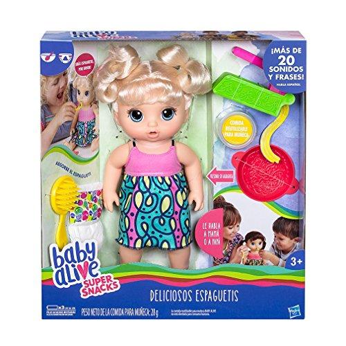 Baby Alive - Comida para muñecas Deliciosos Espaguetis (Hasbro C0963105)
