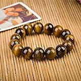 Aoligei Natürlichen Kristall Farbe Tiger Eye STEINPERLEN Perlen Armband Männer und Frauen Achat Edelstein DIY Hand Zeichenfolge