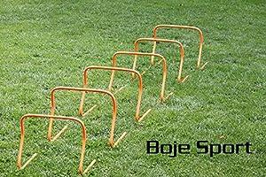 agility sport pour chiens - lot de 6 mini-haies, hauteur: 40 cm