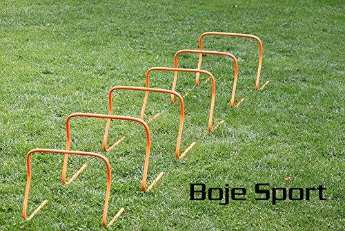 Bild von: Agility Hundesport - 6er Set Koordinationshürden 40 cm, befüllbar