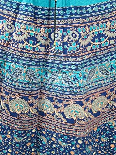 Mogul Interior Damen Rock Blau - Blau