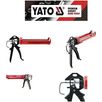 Yato Professional Heavy Duty Silicone Caulk Strengthened Mastic Gun YT-6753