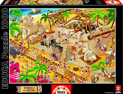 Puzzles Educa – Puzzle Antiguo Egipto, 1000 piezas (16345)
