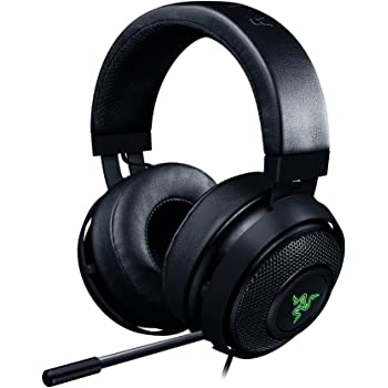 RAZER Kraken 7.1 V2 Chroma - Over-Ear Prise USB Casque Gaming Headset, Son Surround Virtuel 7.1, Casque Gamer avec Éclairage RGB et Microphone Numérique Amélioré, noir