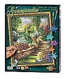 Schipper 609130379 Malen nach Zahlen Gartenparadies, 40 x 50 cm