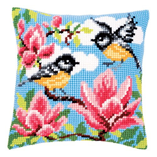 vervaco-blue-tits-cross-stitch-cushion-multi-colour