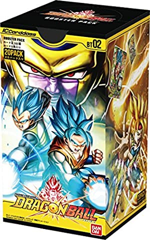 Dragon Ball Box - IC Cardass Dragon Ball 2nd booster pack