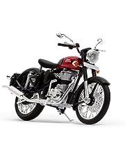 Royal Enfield Redditch Red Bike Miniature/Scale Model (RLCSML000005)