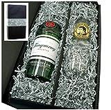 Tanqueray Gin 47% 0,7l Geschenkkarton mit Glas und Thomas Henry Tonic Water 0,2l
