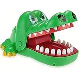 Jouet de doigt de morsure de bouche de dentiste de crocodile pour enfant adulte