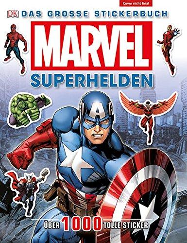 MARVEL Superhelden: Das große Stickerbuch (Captain America-einladungen)