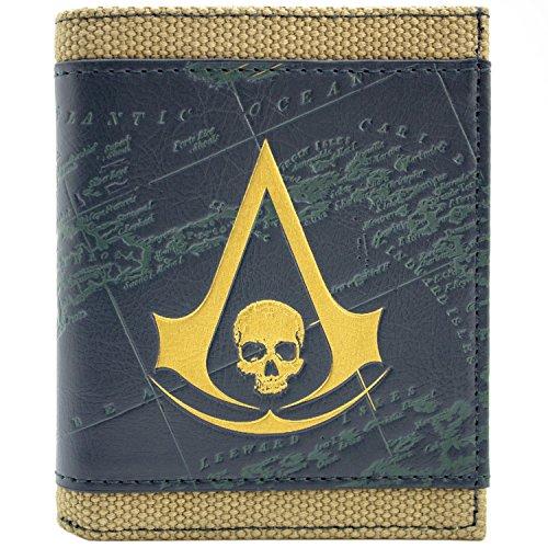eed Black Flag Bronze Portemonnaie Geldbörse (Assassins Creed Black Flag Kostüm Für Kinder)