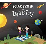 Zayn and Zoey Solar System - Educational Story Book for Kids - Children's Early Learning Picture Book (Ages 3 to 5 Years)