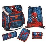 Spider-Man Schulranzen Set 5 teilig SPJU8252 Scooli CAMPUS Up Undercover Ranzen