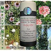 100 ml hautöl – para cuidado unterstützenden en cinturón Rose (herpes ...