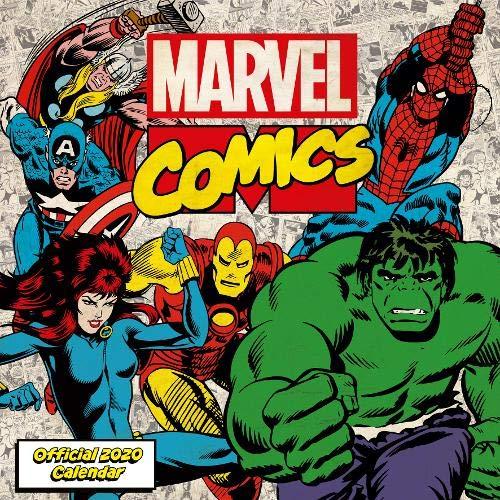 Marvel Comics 2020 Calendar - Official Square Wall Format Calendar par Marvel Comics
