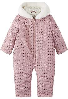 Sterntaler natur 5501780 Baby Overall M/ädchen Pl/üsch