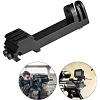 fantaseal Action Kamera Gewehr Montage Railschiene Klemme Schiene Erhöhung Mount für Gopro Hero 6/5/4/3+/3/Session Sony…
