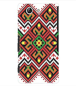 ColourCraft Tribal Pattern Back Case Cover for SONY XPERIA Z4 MINI