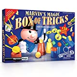 Marvin\'s Magic Box Of 125 Tricks Set - Childrens Magic Set.Magic Kit Complete with Magic Wand, Card Tricks and Much More, Magic Made Easy for children Aged 6 and above - Professional Magic made easy