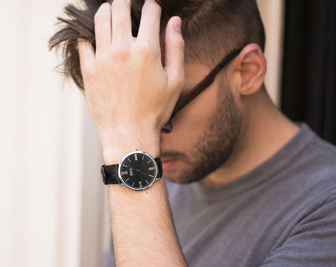 Hugo BOSS 1513369 – Reloj analogico para hombre con mecanismo de