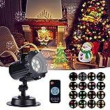 Proyector de Luces de Navidad, Proyector Navidad con Control Remoto...
