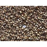 Maalavya Hi Fish Aquarium Water Gravel Stone Pebbles Chips Decoration (Chocolate Brown, 2 Kg)
