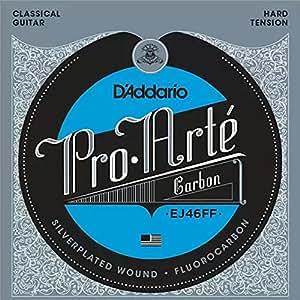 D'Addario EJ46FF Proarte Carbon Set per Chitarra Classica con Bassi Dynacore, Tensione Alta