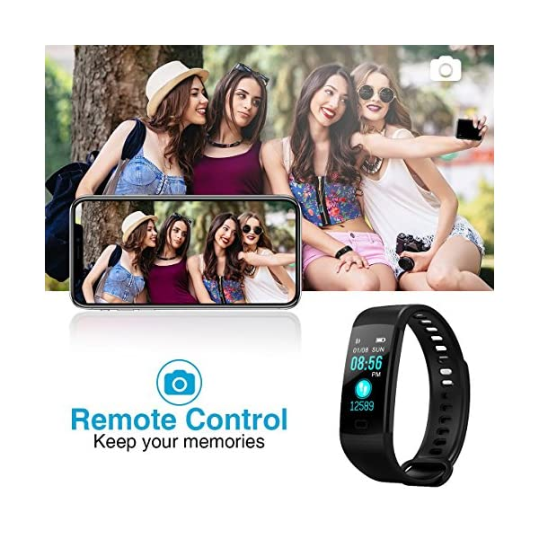 YILON Pulsera Actividad Fitness Tracker Pulsera Inteligente Reloj Fitness Podómetro Monitor de Ritmo cardíaco IP67… 9