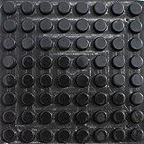 Simply the Best: 64einzelnen Stücke/, X 3M Silikon Schwarz Gummi Füße–12mm Durchmesser x 5mm Höhe–eingeschoben Anti Selfadhesive Kreise