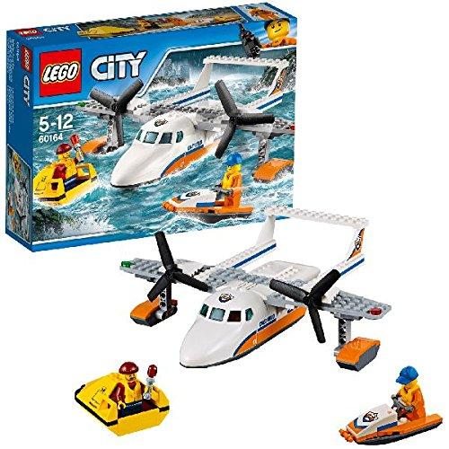 LEGO City Coast Guard - Avión de rescate marítimo (60164)