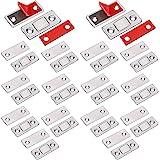 Loquet Magnetique Aimant porte Placard Jiayi 14 Pièces Très Mince loquets magnétiques à Coller Aimant Fermeture Adhesif Meubl