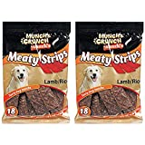 Best Dog Snacks - Kerhoot Chews For Dogs, Lamb Meaty Strips. Two Review
