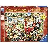 Ravensburger Puzzle 19562 - letzte Weihnachtsvorbereitungen, 1000-teilig